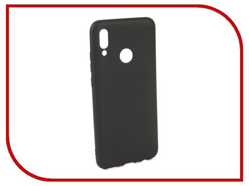 Аксессуар Чехол для Huawei P Smart 2019 Neypo Soft Matte Silicone Black NST7190 аксессуар чехол для huawei p smart 7s innovation silicone pink 12840