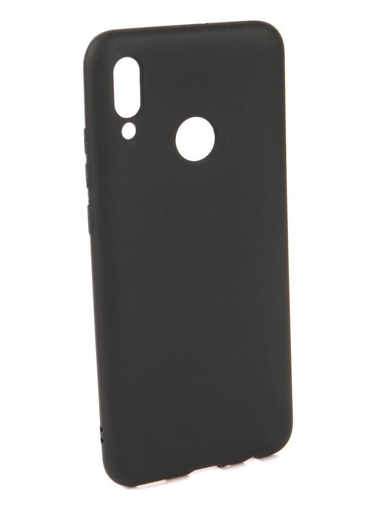 Чехол Neypo для Huawei P Smart 2019 Soft Matte Silicone Black NST7190