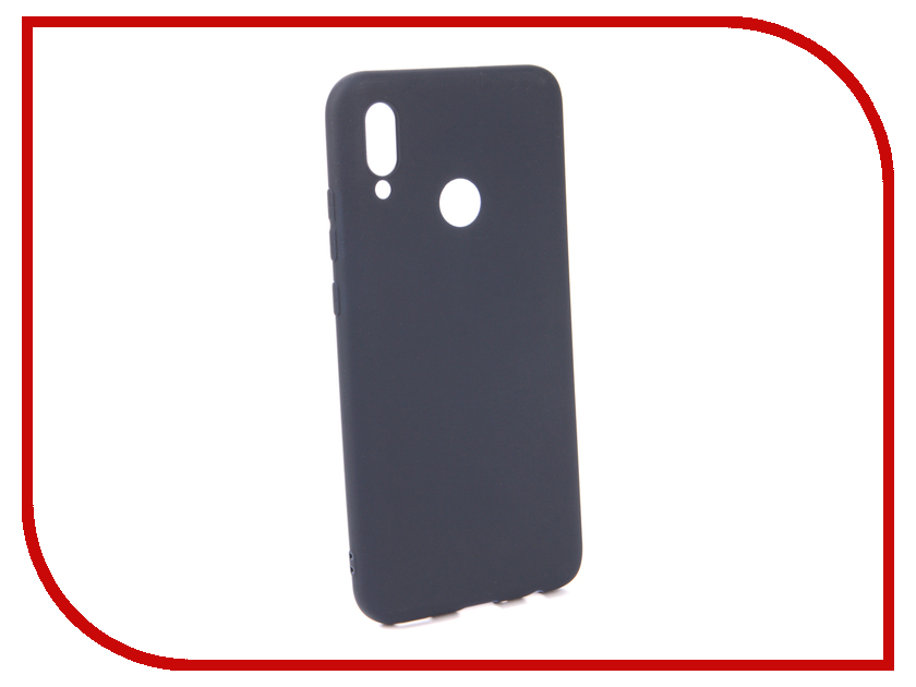 Аксессуар Чехол для Huawei P Smart 2019 Neypo Soft Matte Silicone Dark Blue NST7189 аксессуар чехол для huawei p smart 7s innovation silicone pink 12840