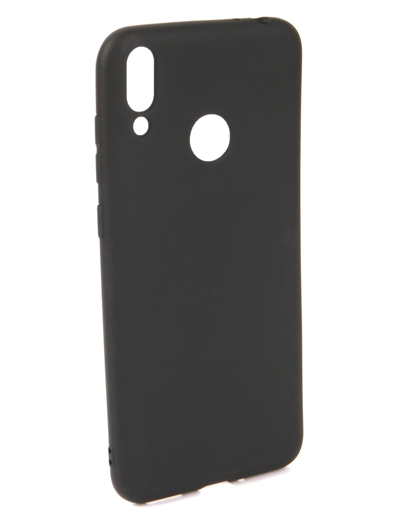 Чехол Neypo для Honor 8C Soft Matte Silicone Black NST6190
