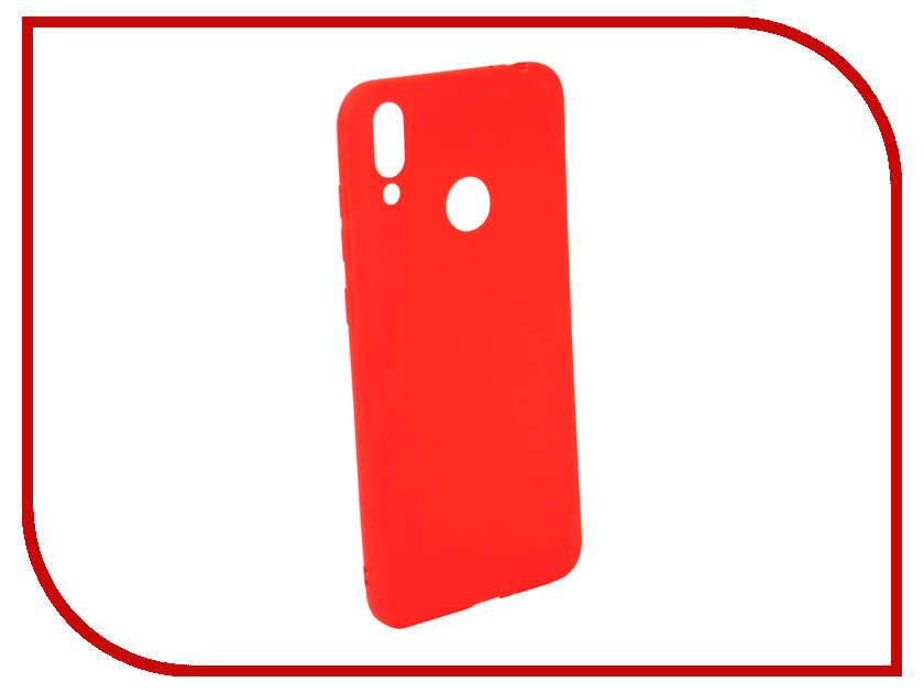 Аксессуар Чехол для Honor 8C Neypo Soft Matte Silicone Red NST6188 аксессуар чехол для honor 8c neypo soft matte silicone turquoise nst6187