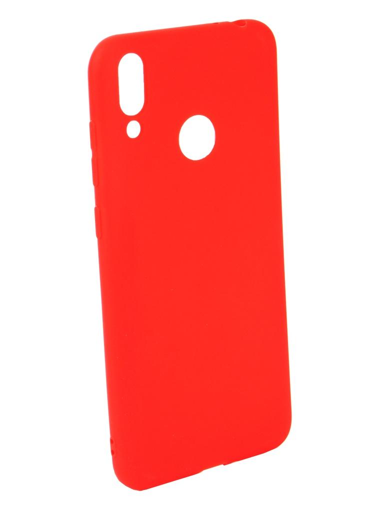 Аксессуар Чехол Neypo для Honor 8C Soft Matte Silicone Red NST6188 аксессуар чехол для honor 8c ibox soft touch fresh red ут000016891