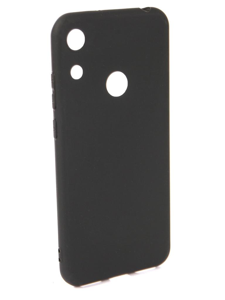 Чехол Neypo для Honor 8A Soft Matte Silicone Black NST7127
