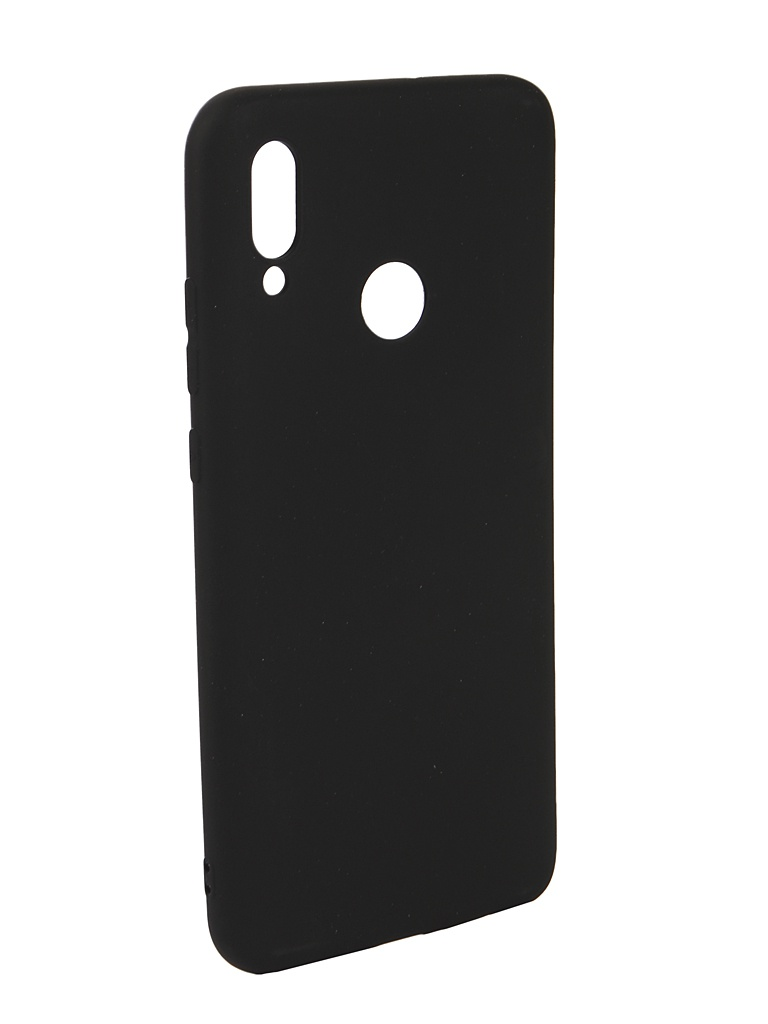 Аксессуар Чехол Neypo для Honor 10 Lite Soft Matte Silicone Black NST6611 аксессуар чехол для xiaomi mi a1 neypo soft touch black st3324