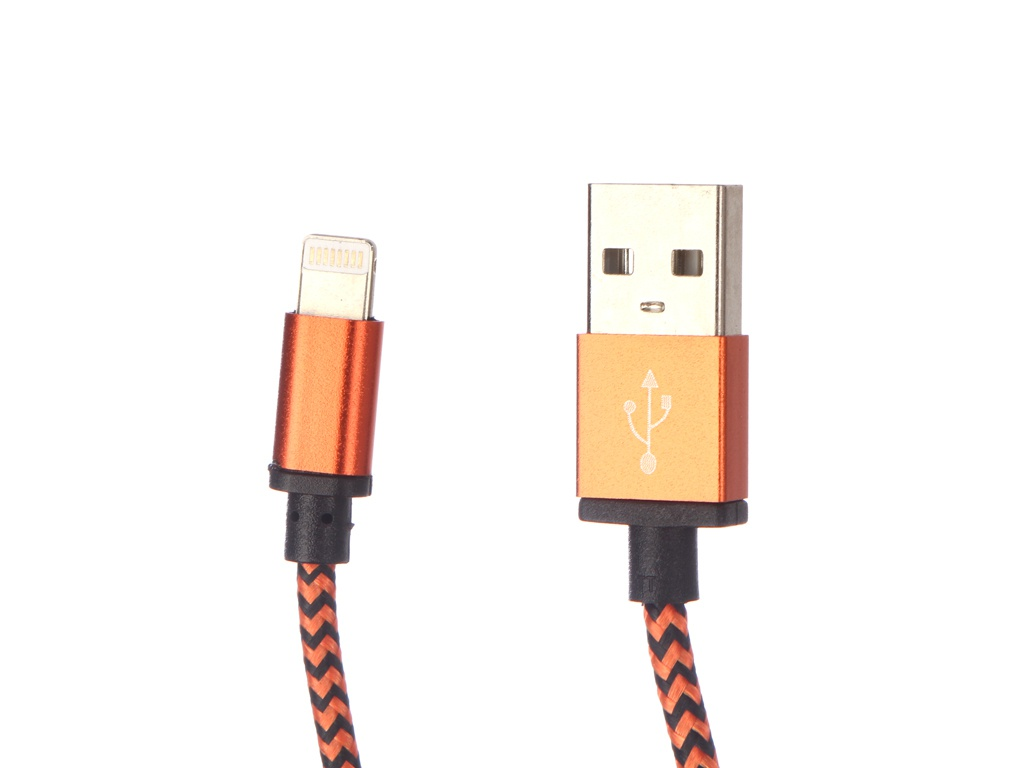Аксессуар Palmexx Lightning to USB PX/LACE IPH5 ORANGE фото