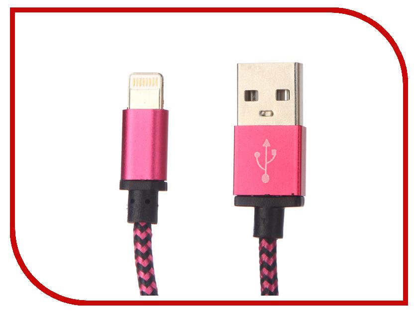 Аксессуар Palmexx Lightning to USB PX/LACE IPH5 ROSE аккумулятор palmexx 1 usb 10000mah black px pbank met 10000