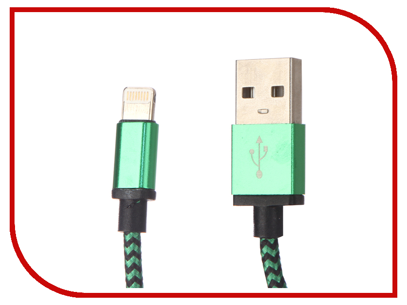 Аксессуар Palmexx Lightning to USB PX/LACE IPH5 GREEN green lace stitching