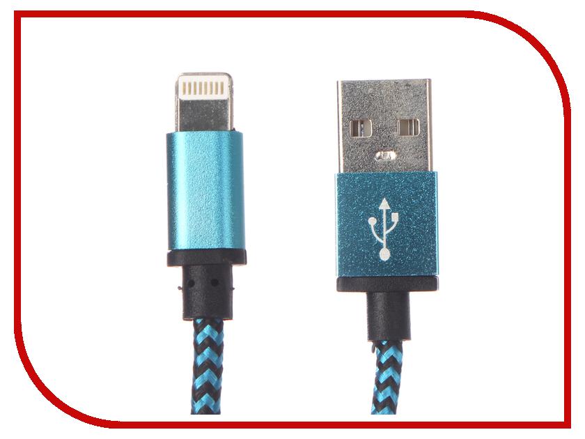 Аксессуар Palmexx Lightning to USB PX/LACE IPH5 BLUE звуковая карта palmexx usb sound adapter 7 1 channel px audio7 1chan