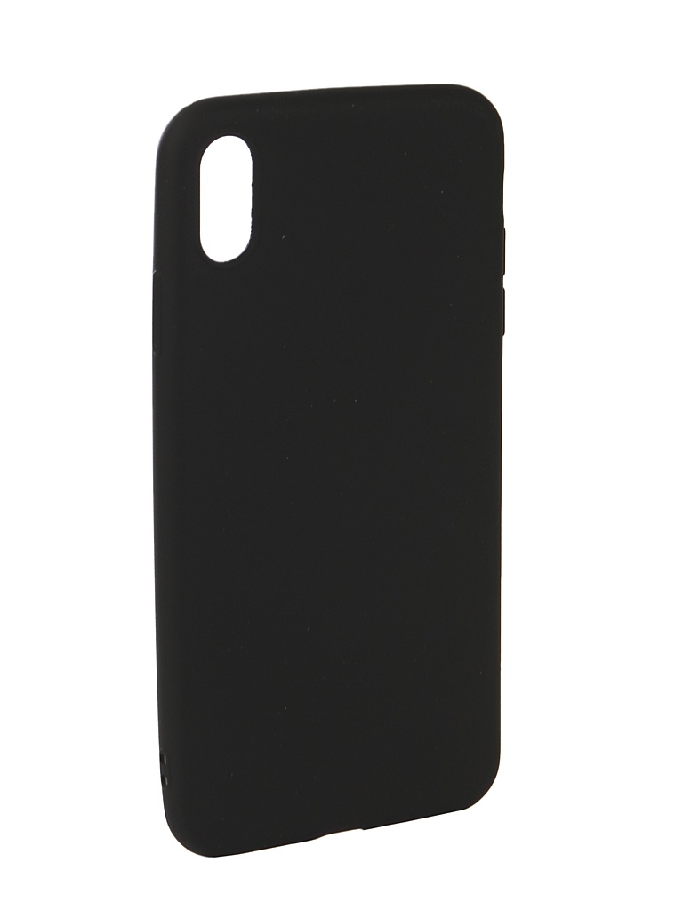 Аксессуар Чехол Neypo для APPLE iPhone Xs Max Neon Silicone Black NSTN5887