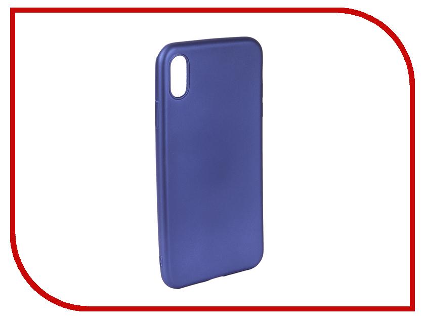 Аксессуар Чехол для APPLE iPhone Xs Max Neypo Neon Silicone Blue NSTN5885 аксессуар чехол для apple iphone xs max neypo soft matte dark blue nst5454
