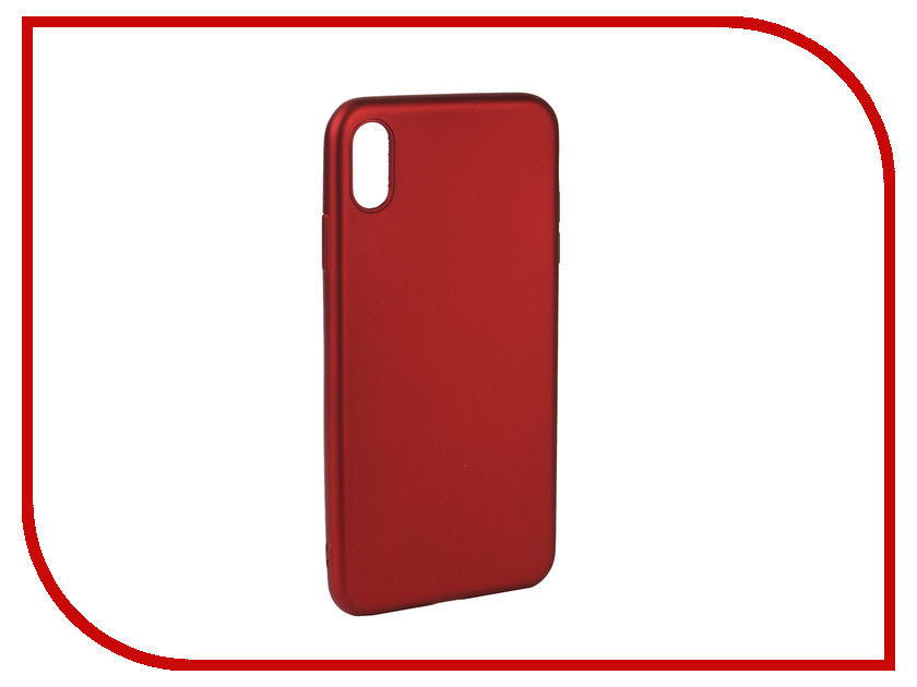 Аксессуар Чехол для APPLE iPhone Xs Max Neypo Neon Silicone Red NSTN5886 аксессуар чехол для apple iphone xs max neypo soft matte red nst5455