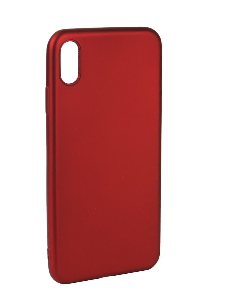 Аксессуар Чехол Neypo для APPLE iPhone Xs Max Neon Silicone Red NSTN5886