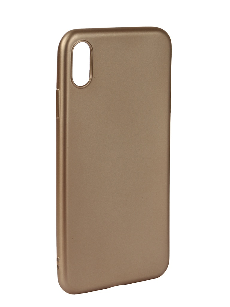 Аксессуар Чехол Neypo для APPLE iPhone Xs Max Neon Silicone Gold NSTN5884