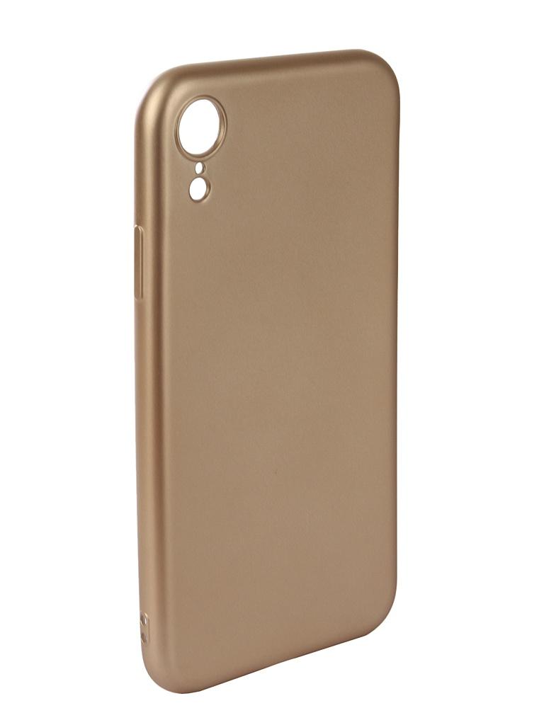 Аксессуар Чехол Neypo для APPLE iPhone XR Neon Silicone Gold NSTN5889