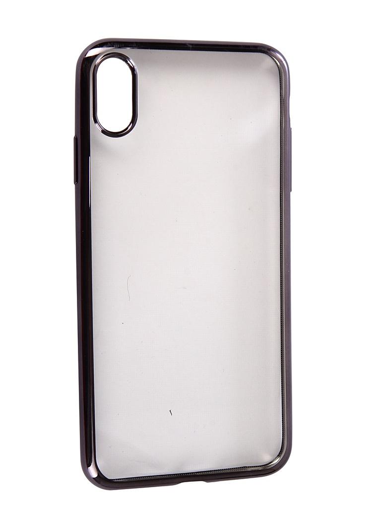 Аксессуар Чехол Neypo для APPLE iPhone XS Max Aura Silicone Grey Metallic NSTA5143 аксессуар чехол для apple iphone xs max neypo aura silicone gold metallic nsta5144