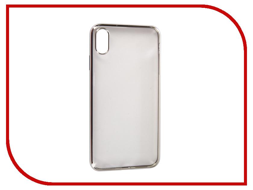 Купить Аксессуар Чехол для APPLE iPhone XS Max Neypo Aura Silicone Silver Metallic NSTA5146