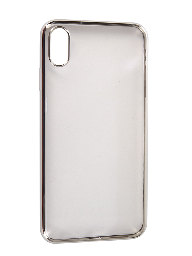 Аксессуар Чехол Neypo для APPLE iPhone XS Max Aura Silicone Silver Metallic NSTA5146 аксессуар чехол для apple iphone xs max neypo aura silicone gold metallic nsta5144