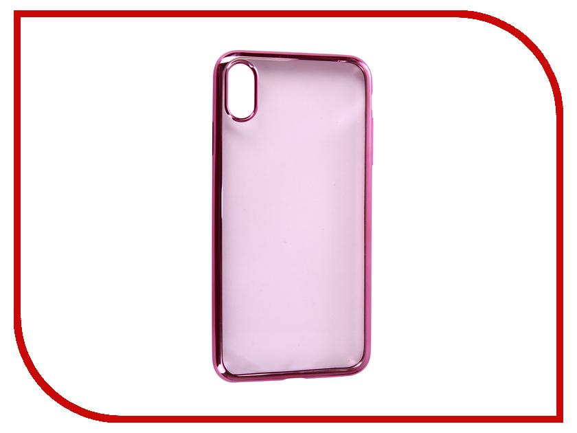 Купить Аксессуар Чехол для APPLE iPhone XS Max Neypo Aura Silicone Pink Metallic NSTA5145
