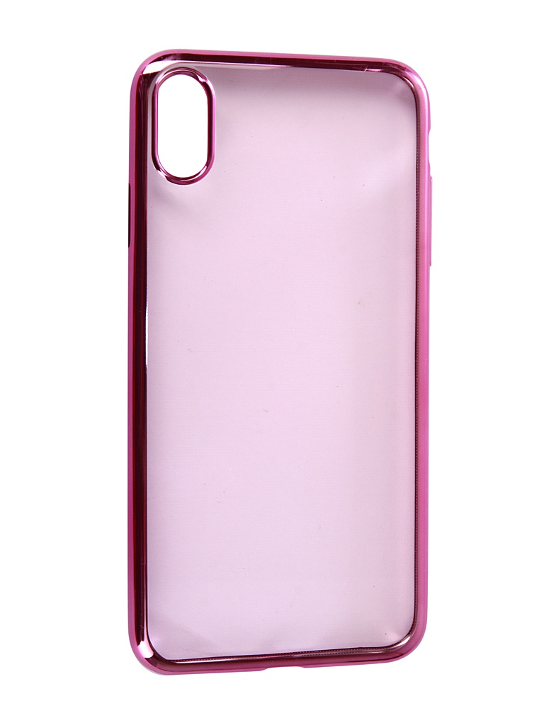 Аксессуар Чехол Neypo для APPLE iPhone XS Max Aura Silicone Pink Metallic NSTA5145