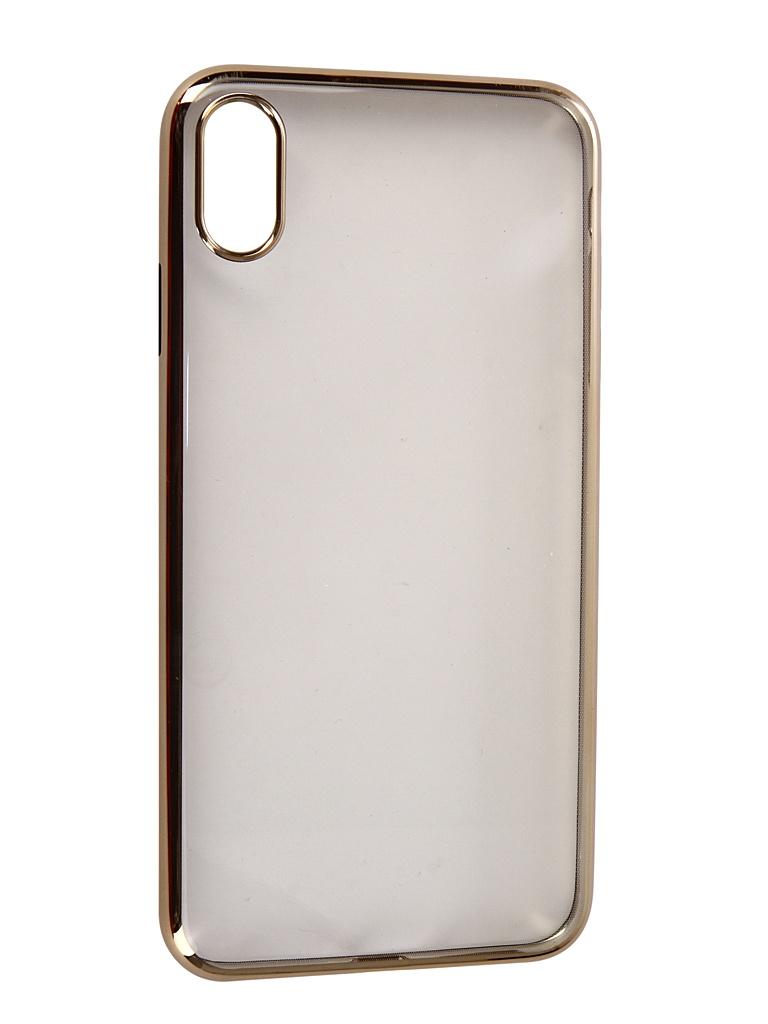 Аксессуар Чехол Neypo для APPLE iPhone XS Max Aura Silicone Gold Metallic NSTA5144 аксессуар чехол для apple iphone xs max neypo aura silicone gold metallic nsta5144