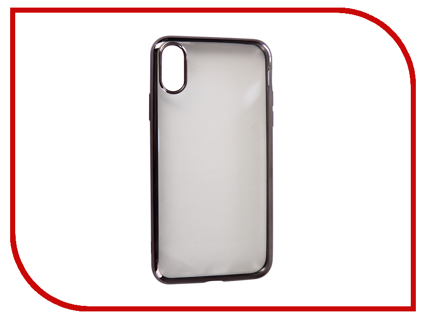 Купить Аксессуар Чехол для APPLE iPhone XR Neypo Aura Silicone Grey Metallic NSTA5142