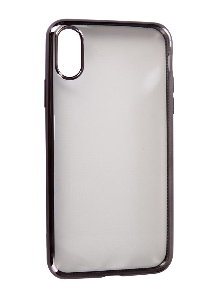 Аксессуар Чехол Neypo для APPLE iPhone XR Aura Silicone Grey Metallic NSTA5142