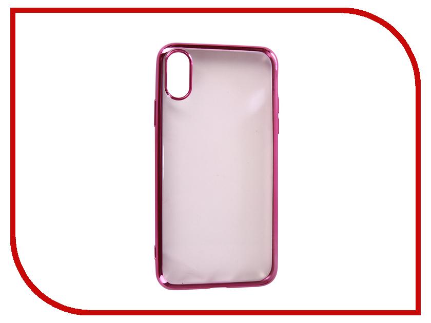 Купить Аксессуар Чехол для APPLE iPhone XR Neypo Aura Silicone Pink Metallic NSTA5140