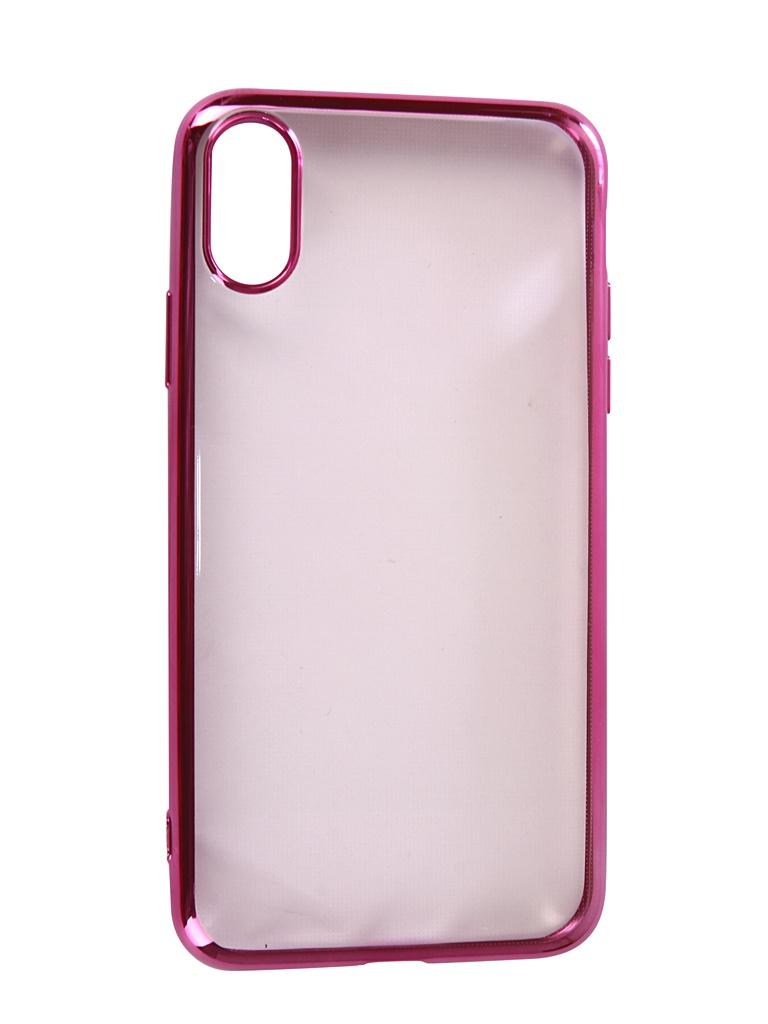 Аксессуар Чехол Neypo для APPLE iPhone XR Aura Silicone Pink Metallic NSTA5140 аксессуар чехол для apple iphone xs max neypo aura silicone gold metallic nsta5144