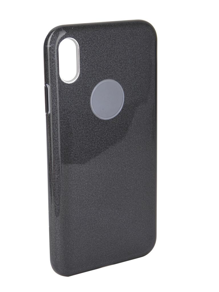 Аксессуар Чехол Neypo для APPLE iPhone Xs Max Brilliant Silicone Black Crystals NBRL5941 аксессуар чехол для apple iphone xr neypo brilliant silicone black crystals nbrl6159