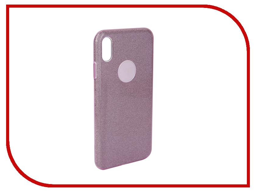 Аксессуар Чехол для APPLE iPhone Xs Max Neypo Brilliant Silicone Purple Crystals NBRL5940 аксессуар чехол для huawei p20 pro neypo brilliant silicone turquoise crystals nbrl4561