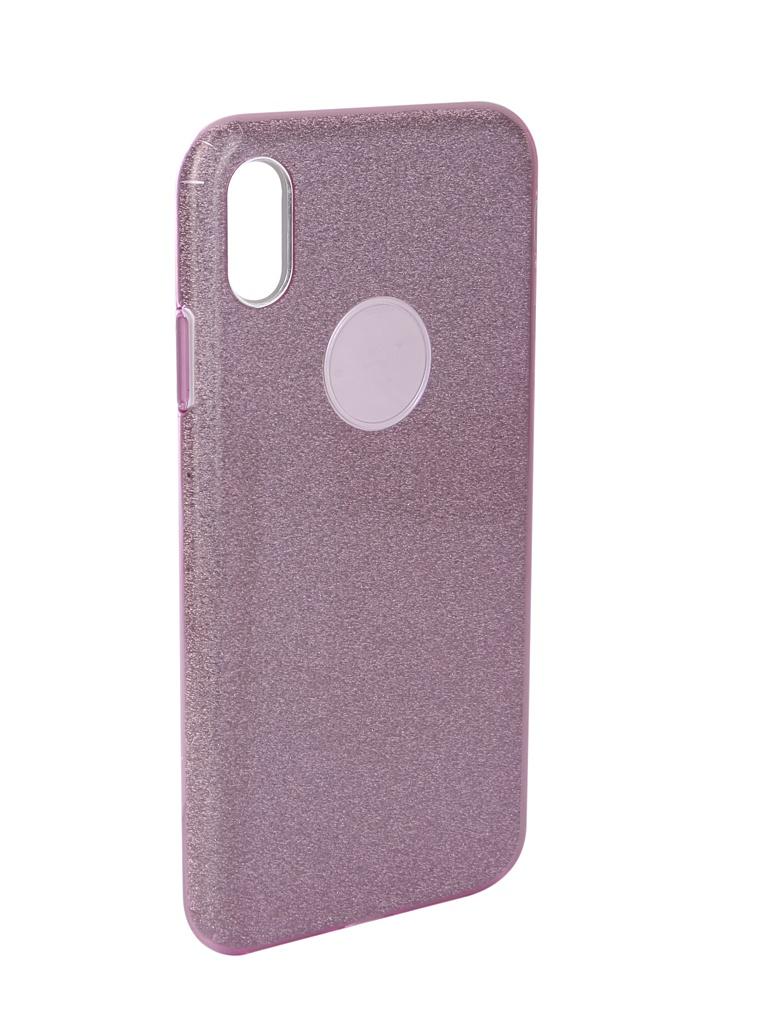 Аксессуар Чехол Neypo для APPLE iPhone Xs Max Brilliant Silicone Purple Crystals NBRL5940 аксессуар чехол для apple iphone xr neypo brilliant silicone black crystals nbrl6159