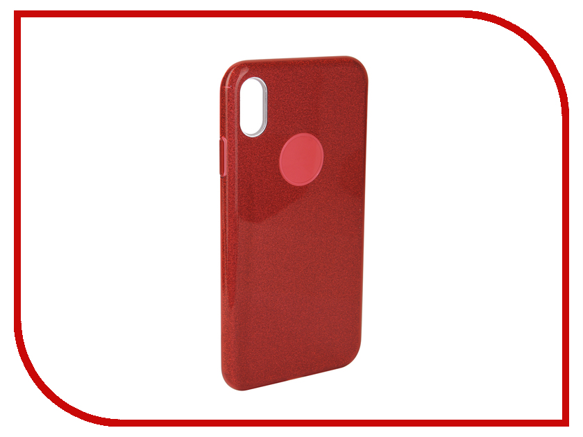 Аксессуар Чехол для APPLE iPhone Xs Max Neypo Brilliant Silicone Red Crystals NBRL5937 аксессуар чехол для apple iphone xr neypo brilliant silicone black crystals nbrl6159