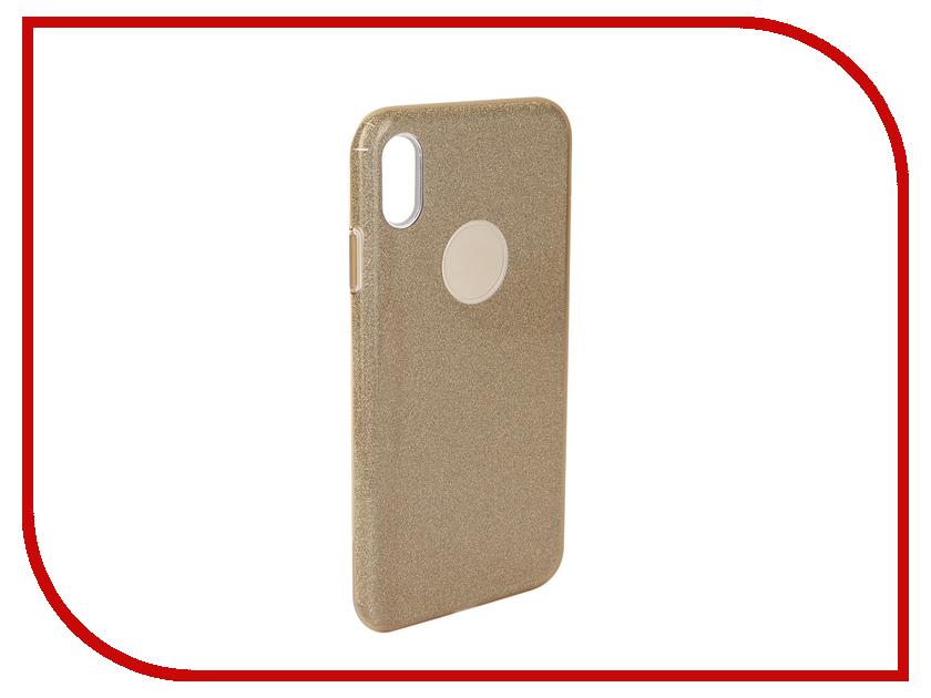Аксессуар Чехол для APPLE iPhone Xs Max Neypo Brilliant Silicone Gold Crystals NBRL5936 аксессуар чехол для huawei p20 neypo brilliant silicone gold crystals nbrl4488