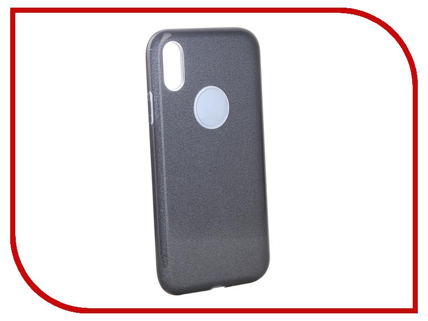 Аксессуар Чехол для APPLE iPhone XR Neypo Brilliant Silicone Black Crystals NBRL6159 аксессуар чехол для huawei p20 pro neypo brilliant silicone turquoise crystals nbrl4561