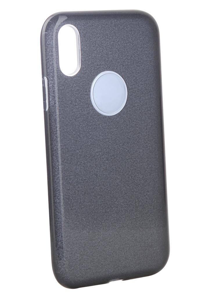 Аксессуар Чехол Neypo для APPLE iPhone XR Brilliant Silicone Black Crystals NBRL6159 аксессуар чехол для apple iphone xr neypo brilliant silicone black crystals nbrl6159