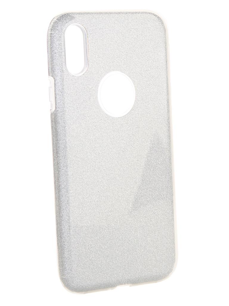 Аксессуар Чехол Neypo для APPLE iPhone XR Brilliant Silicone Silver Crystals NBRL6157 аксессуар чехол для apple iphone xr neypo brilliant silicone black crystals nbrl6159