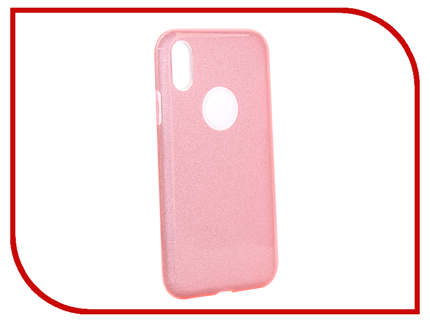 Аксессуар Чехол для APPLE iPhone XR Neypo Brilliant Silicone Pink Crystals NBRL6156