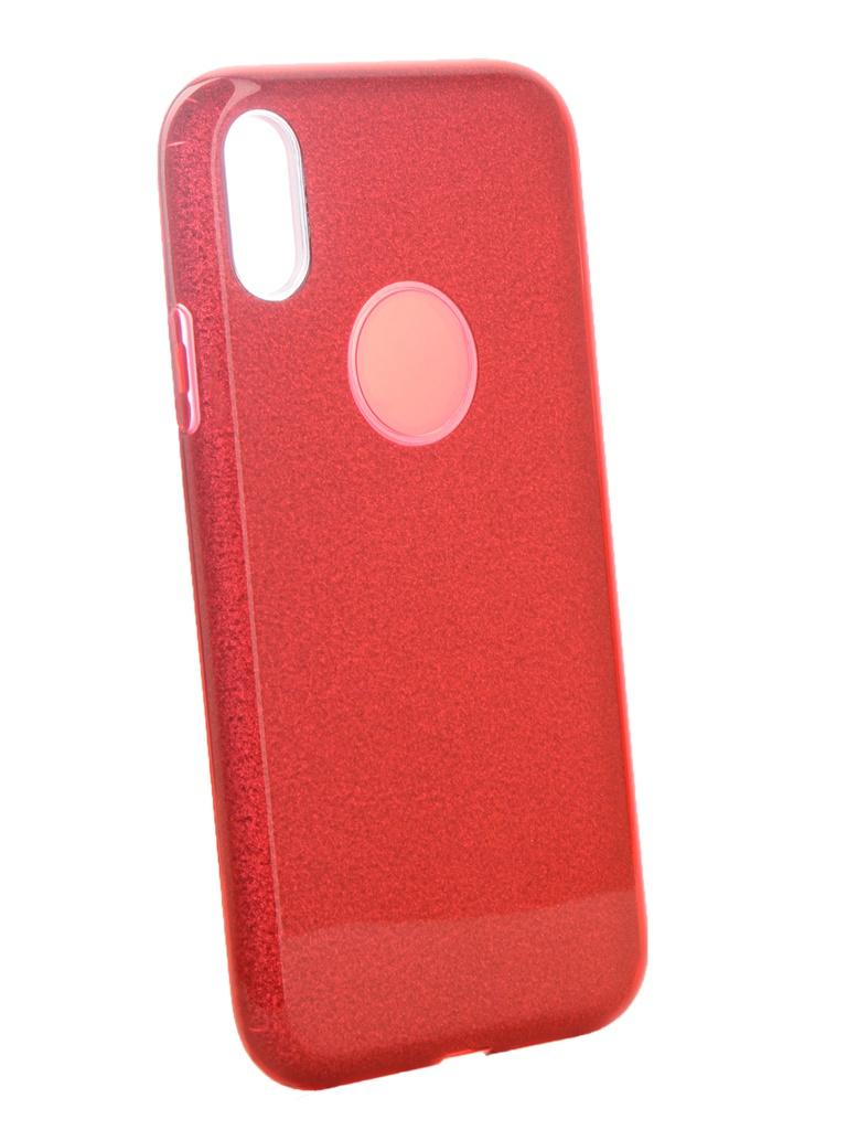 Аксессуар Чехол Neypo для APPLE iPhone XR Brilliant Silicone Red Crystals NBRL6155 аксессуар чехол для apple iphone xr neypo brilliant silicone black crystals nbrl6159