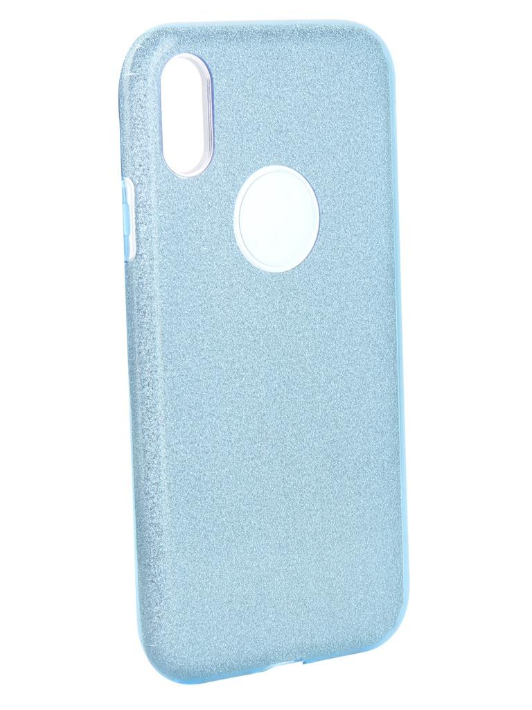 Аксессуар Чехол Neypo для APPLE iPhone XR Brilliant Silicone Light Blue Crystals NBRL6153 аксессуар чехол для apple iphone xr neypo brilliant silicone black crystals nbrl6159