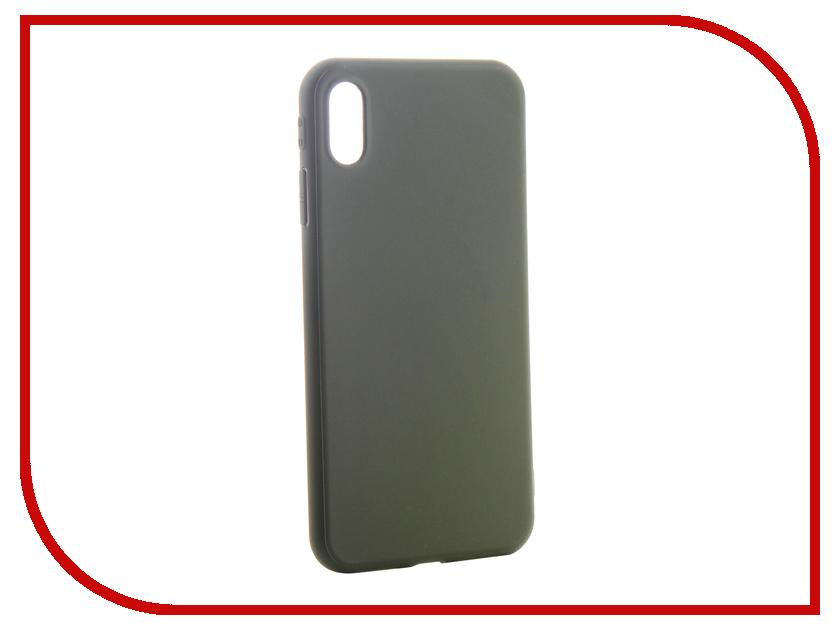Аксессуар Чехол для APPLE iPhone Xs Max Neypo Soft Matte Silicone Khaki NST6066 аксессуар чехол для apple iphone xs neypo soft matte red nst5457