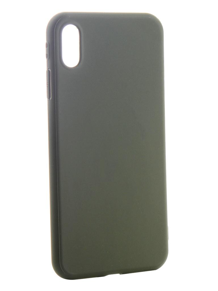 Аксессуар Чехол Neypo для APPLE iPhone Xs Max Soft Matte Silicone Khaki NST6066 цена