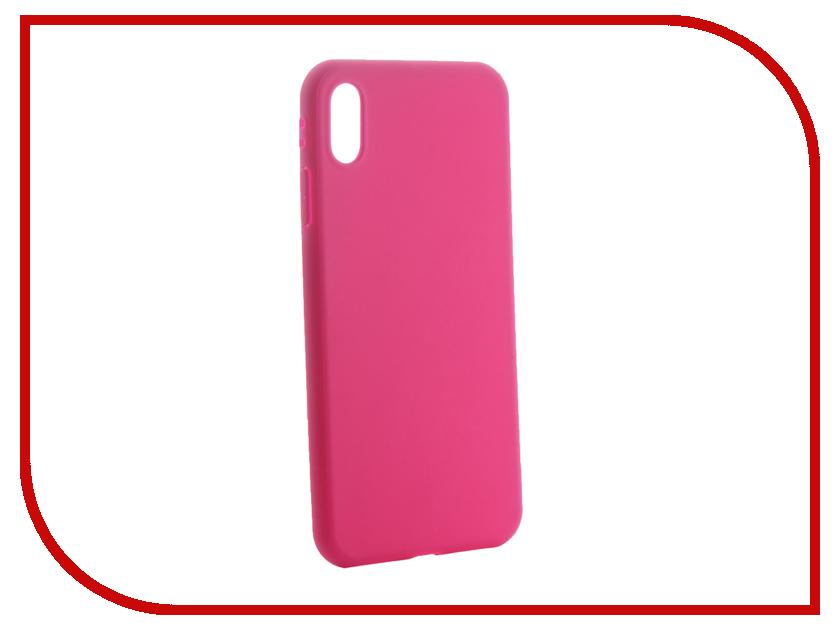 Аксессуар Чехол для APPLE iPhone Xs Max Neypo Soft Matte Silicone Purple NST6067 аксессуар чехол для apple iphone xs neypo soft matte red nst5457
