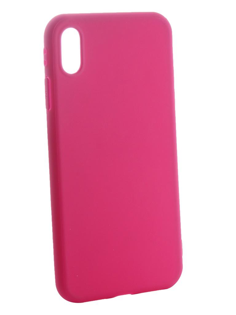 Аксессуар Чехол Neypo для APPLE iPhone XR Soft Matte Silicone Magenta NST6062