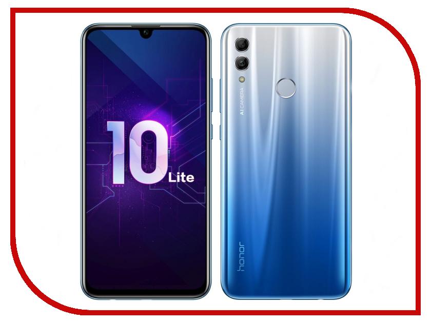 Сотовый телефон Honor 10 Lite 3/32GB Sky Blue сотовый телефон huawei honor 8 lite 32gb black