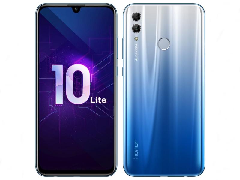 Сотовый телефон Honor 10 Lite 3/32GB Sky Blue сотовый телефон honor 8s 32gb gold