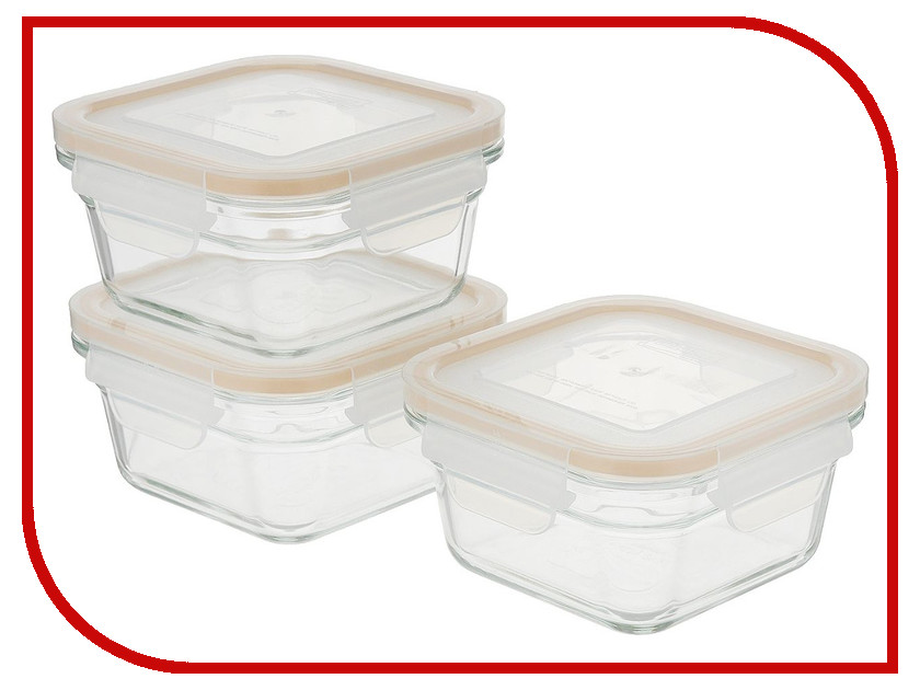 Набор контейнеров Glasslock GL-1108 glasslock gl 507
