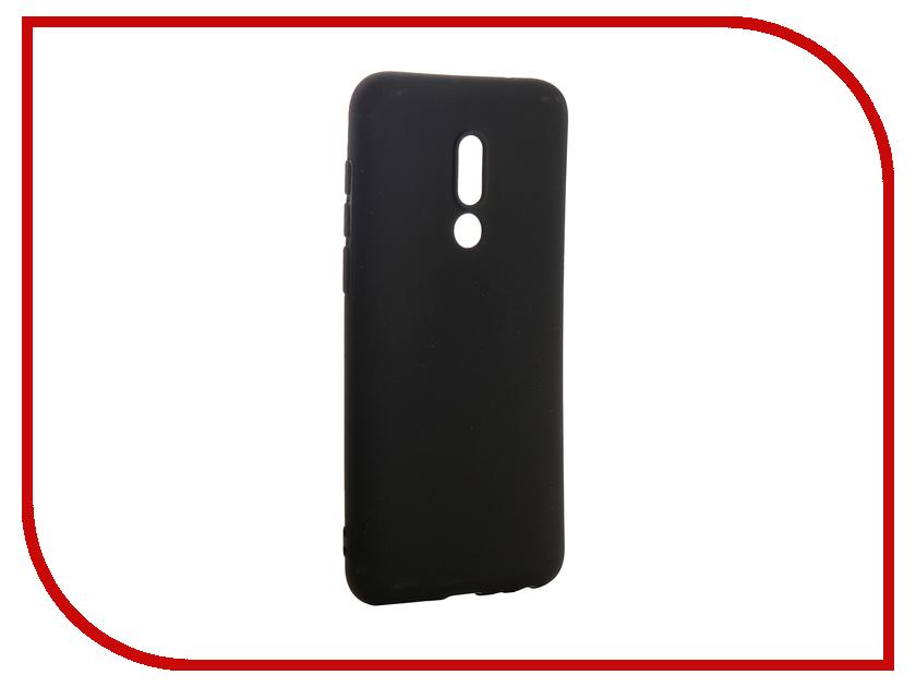 Аксессуар Чехол для Meizu 16 Neypo Soft Matte Silicone Black NST6022 cam in matte soft screw shutter release button for leica hasselblad more black convex
