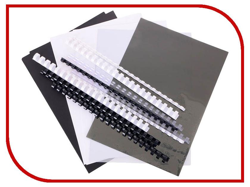 Набор обложек и пружин для переплета Office Kit MLA50050 стартовый набор обложек и пружин для переплета office kit mla50050