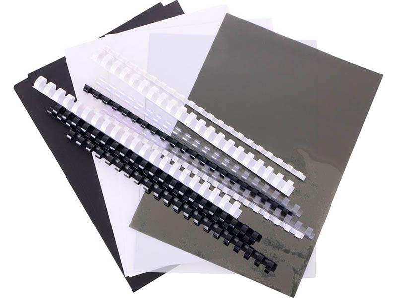 Набор обложек и пружин для переплета Office Kit MLA50050
