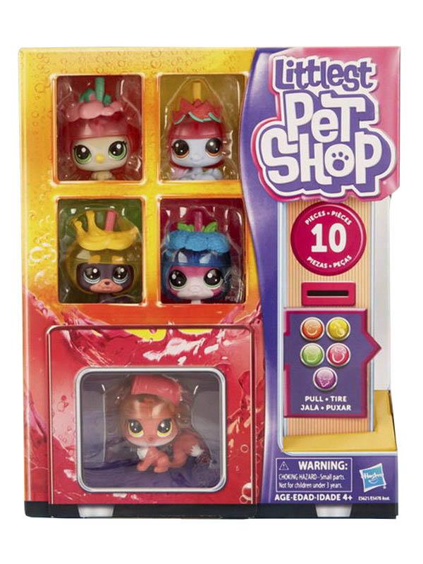 Игрушка Hasbro Littlest Pet Shop Пет в холодильнике 10шт E5478EU4 littlest pet shop игрушка мягконабивная пет прилипала buster boxington